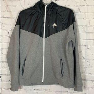Nike Air Gray Zip Hoodie Size XL NWOT